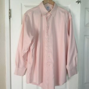 Brook Brothers pink button down shirt 16  1/2